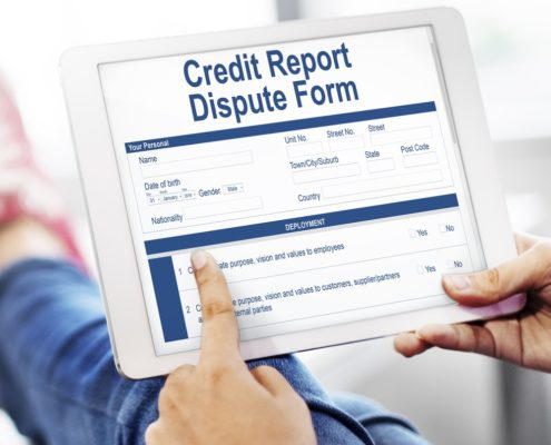 Credit Report Dispute Form. Credit Dispute. Extract From The ...